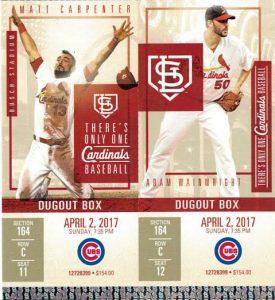 2017 Cardinals Tickets